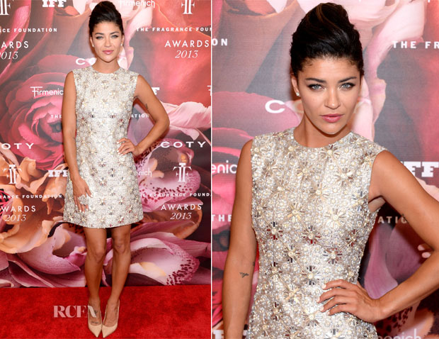 Jessica Szohr In Kaufmanfranco - 2013 Fragrance Foundation Awards