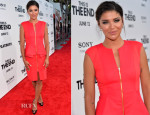 Jessica Szohr In Ted Baker - 'This Is The End' LA Premiere