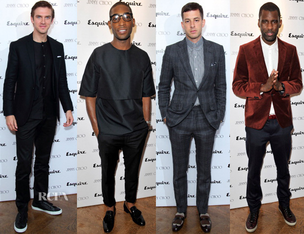 Jimmy Choo Esquire Party Menswear Round Up