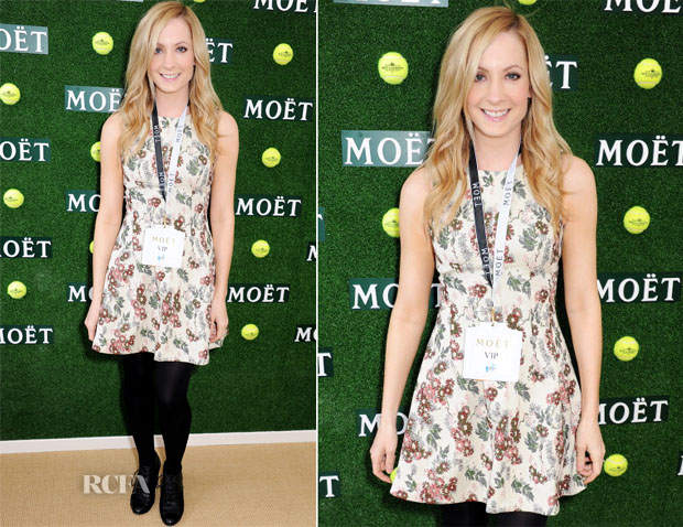 Joanne Froggatt In Topshop - The Aegon Championships Queens Club Finals