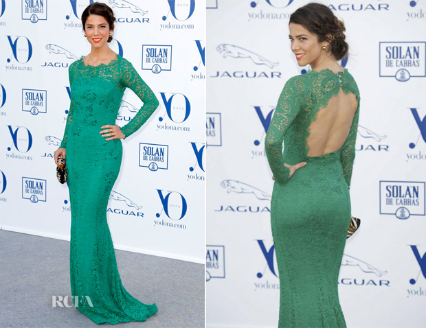 Juana Acosta In Blumarine - 'Yo Dona' International Awards 2013