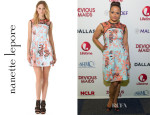 Judy Reyes' Nanette Lepore Club Mix Dress