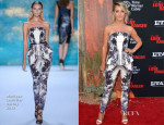 Julianne Hough In Monique Lhuillier - 'The Lone Ranger' LA Premiere