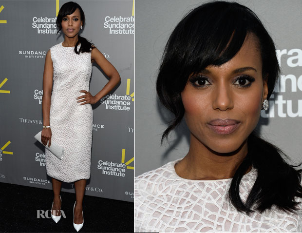 Kerry Washington In Calvin Klein - 3rd Annual Celebrate Sundance Institute Los Angeles Benefit