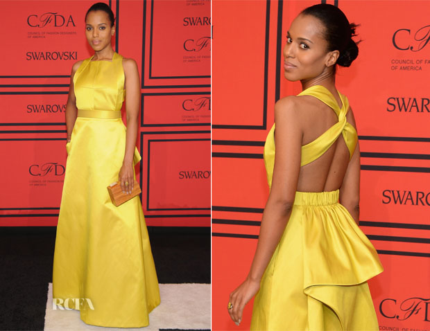 Kerry Washington In Jason Wu - 2014 CFDA Fashion Awards