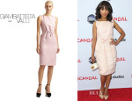 Kerry Washington's Giambattista Valli Tie-Belt Dress