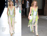 Kylie Minogue In Roberto Cavalli - Out In New York City