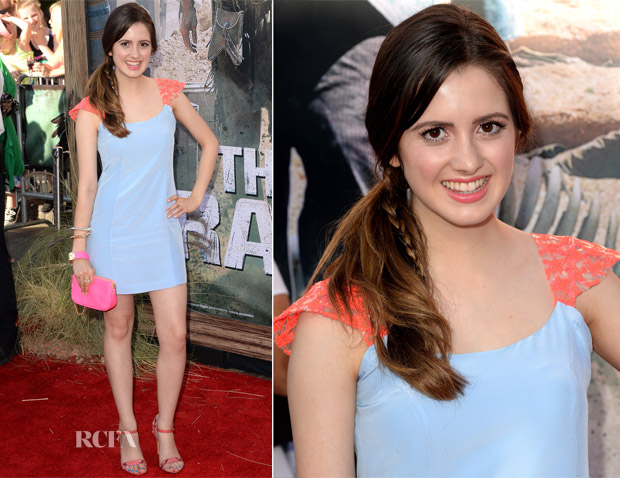 Laura Marano In Zayan - 'The Lone Ranger' LA Premiere