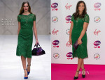 Laura Robson In Burberry Prorsum - Pre-Wimbledon Party
