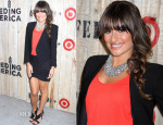 Lea Michele In Helmut Lang, Brochu Walker & Kimberly Ovitz - Target FEED Collaboration Launch