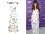 Lea Michele's Valentino Lace Dress