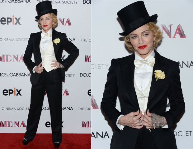 Madonna In Dolce & Gabbana - 'Madonna The MDNA Tour' Screening