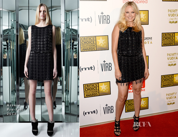 Malin Akerman In Azzaro - 2013 Critics' Choice Television Awards