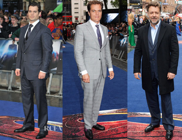'Man of Steel' London Premiere Menswear Round Up