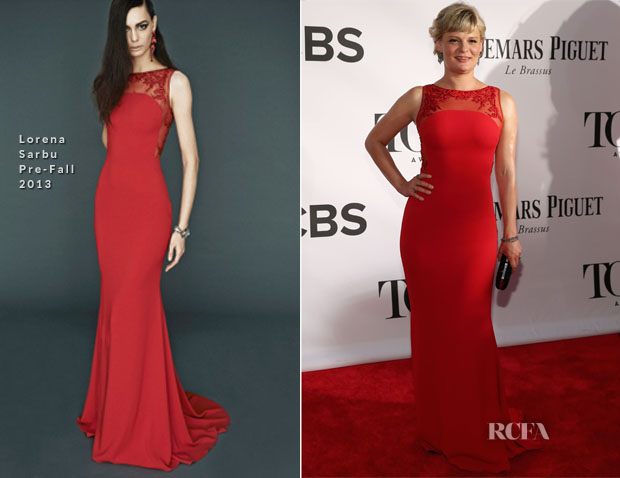 Martha Plimpton In Lorena Sarbu - 2013 Tony Awards