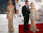 Megan Hilty In Badgley Mischka - 2013 Tony Awards