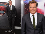 Michael Shannon In Jil Sander - 'Man of Steel' World Premiere
