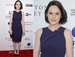 Michelle Dockery In Roland Mouret - An Evening With 'Downton Abbey'
