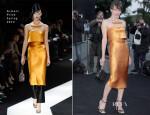 Milla Jovovich In Armani Privé - Giorgio Armani Hosts 'One Night Only' Roma