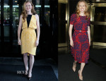 Mireille Enos In Bibhu Mohapatra & ASOS - 'World War Z' Promo Tour