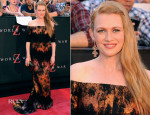 Mireille Enos In J. Mendel - 'World War Z' New York Premiere