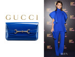 Miroslava Duma's Gucci Patent Leather Clutch