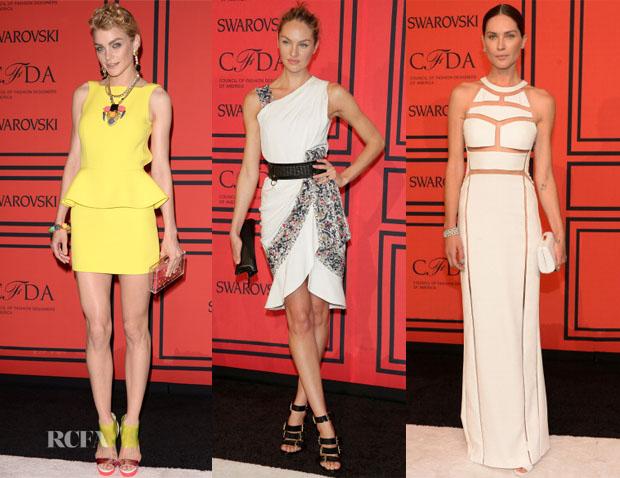 Models @ 2013 CFDA Fashion Awards 3