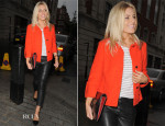 Mollie King In Jaeger & Gerard Darel - The Surgery Show