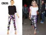 Mollie Kings' ASOS Floral Print Trousers