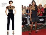 Naomi Campbell In Alexander McQueen - Glamour Women of the Year Awards 2013