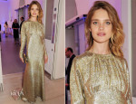 Natalia Vodianova In Stella McCartney - 'Arts For Life' Charity Auction