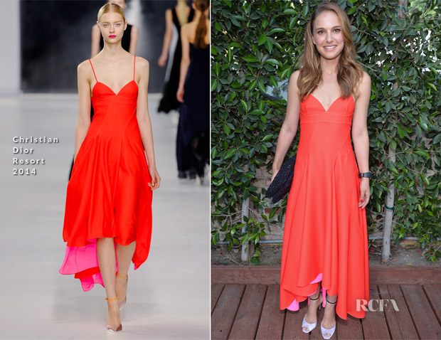 Natalie Portman In Christian Dior - Benjamin Millepied's LA Dance Project Inaugural Benefit Gala