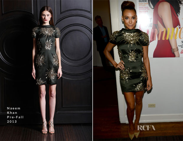 Naya Rivera In Naeem Khan - InStyle Celebrates The Launch of Elizabeth And James Fall 2013 Handbag Collection