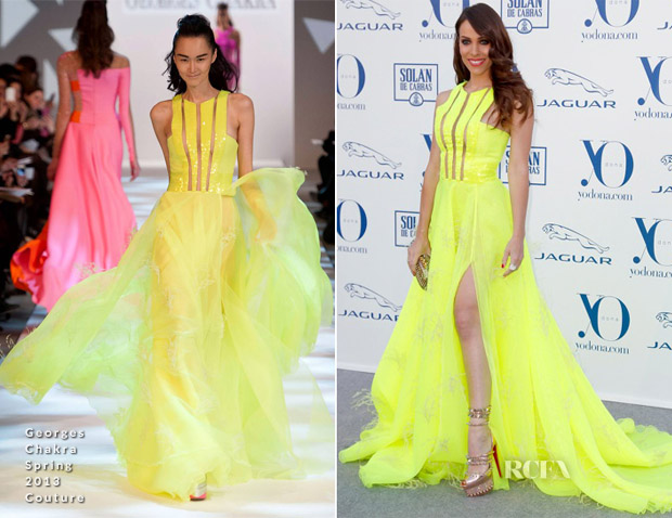 Nerea Garmendia In Georges Chakra Couture - 'Yo Dona' International Awards 2013