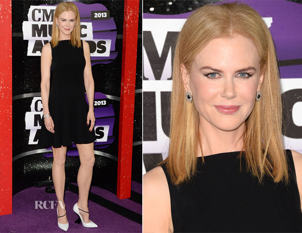 Nicole Kidman In Christian Dior - 2013 CMT Music Awards