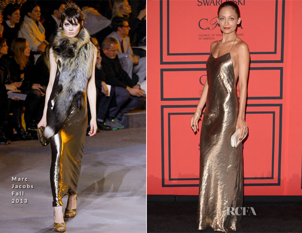 Nicole Richie In Marc Jacobs - 2013 CFDA Fashion Awards