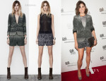 Nikki Reed In AllSaints - Erik Wahl's Book Launch