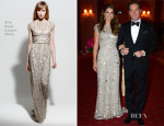 Princess Madeleine of Sweden In Elie Saab - Pre-Wedding Dinner