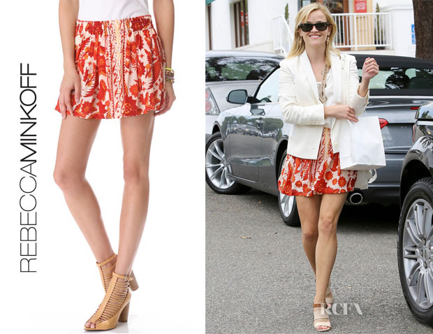 Reese Witherspoon's Rebecca Minkoff Dane Skirt
