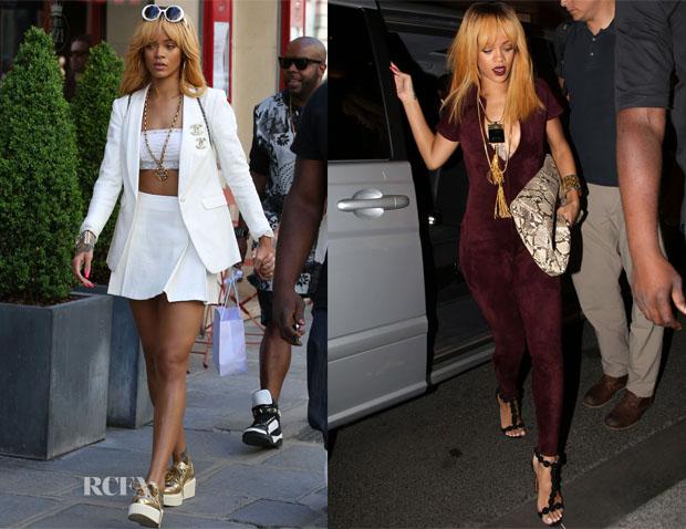 Rihanna In Chanel & Alaia