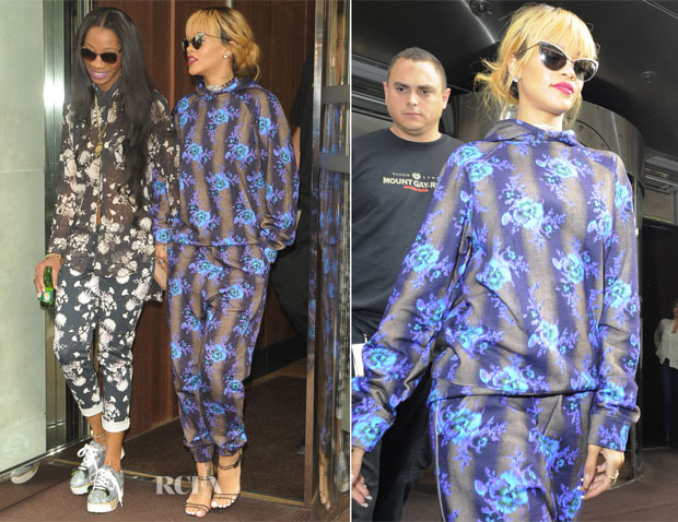 Rihanna In Christopher Kane - Out In London