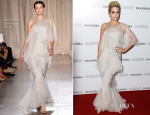 Rita Ora In Marchesa - Glamour Women of the Year Awards 2013