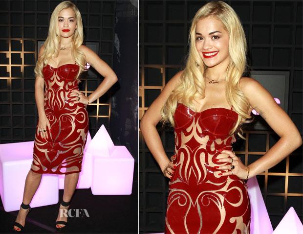 Rita Ora In Natalia Kaut S13 - Sony Xperia Access