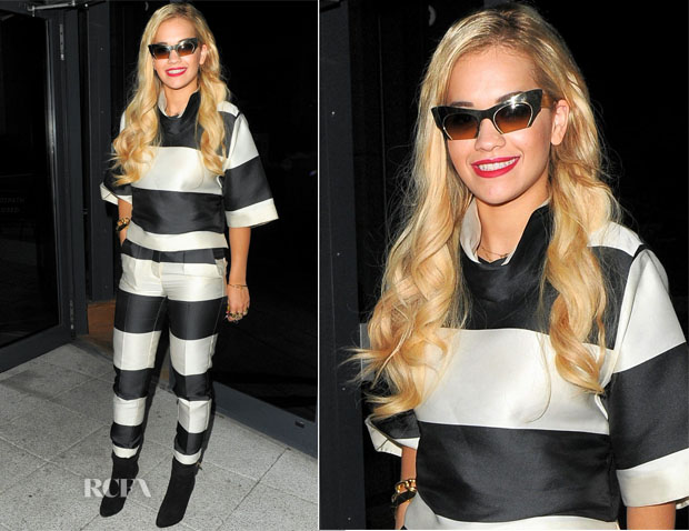 Rita Ora In Stella McCartney - Out In London