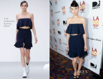 Rooney Mara In J.W. Anderson - 'Ain't Them Bodies Saints' Los Angeles Film Festival Screening