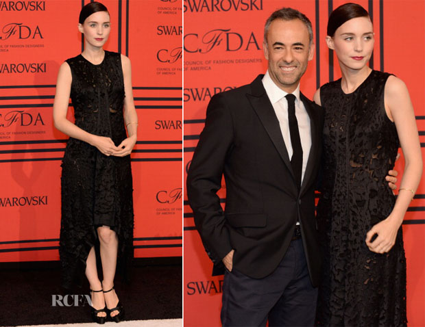 Rooney Mara in Calvin Klein - 2013 CFDA Fashion Awards