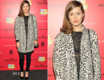 Rose Byrne In Zara, Topshop & Madewell - 'I'm So Excited' New York Screening