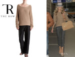 Rosie Huntington-Whiteley's The Row 'Corby' Sweater