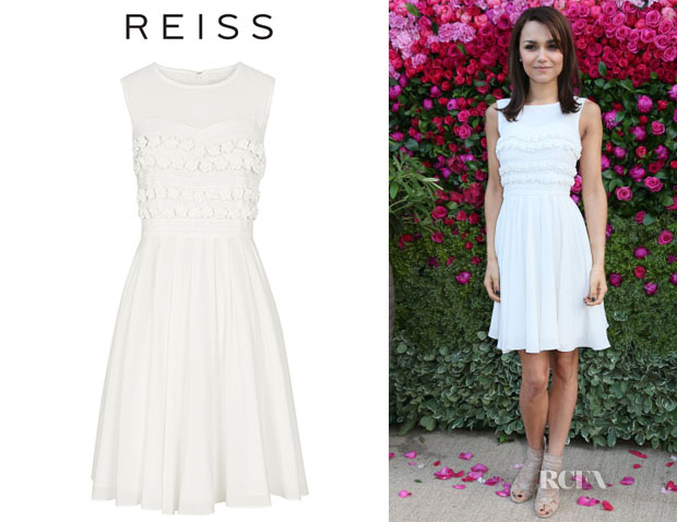Samantha Barks' Reiss Lemine Dress