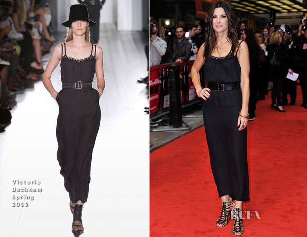 Sandra Bullock In Victoria Beckham - 'The Heat' London Gala Screening